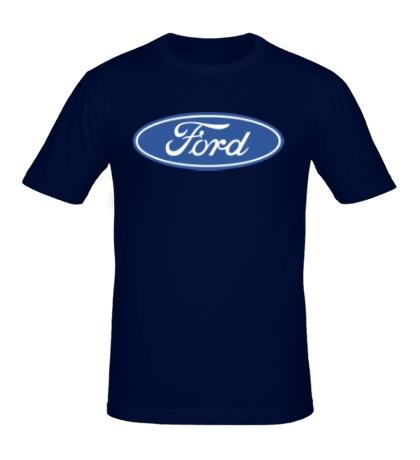 Мужская футболка Ford Logo