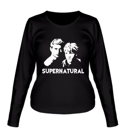 Женский лонгслив Supernatural