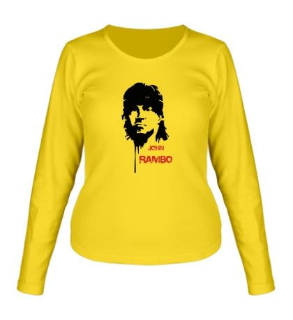 Женский лонгслив John Rambo