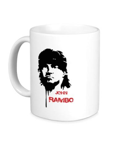 Керамическая кружка John Rambo