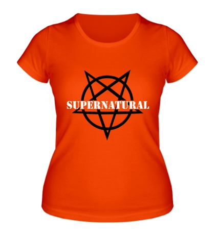 Женская футболка Evil Supernatural