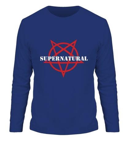 Мужской лонгслив Evil Supernatural