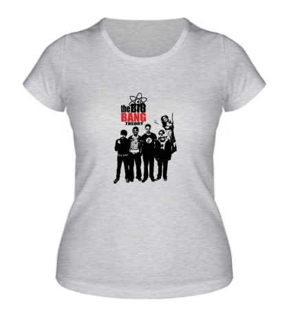 Женская футболка TBBT: Friends