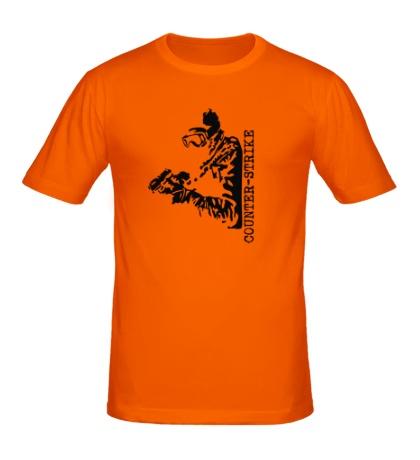 Мужская футболка «Counter-Strike SWAT»