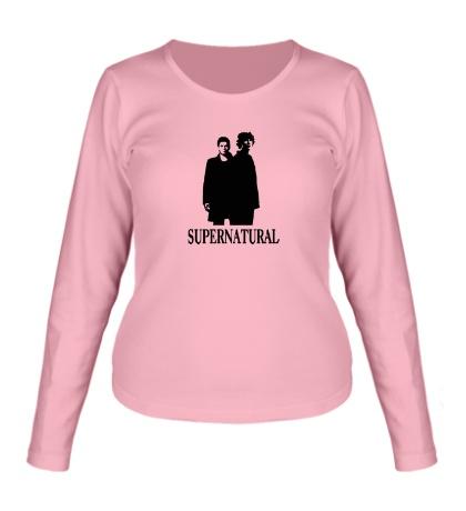 Женский лонгслив Supernatural Bros