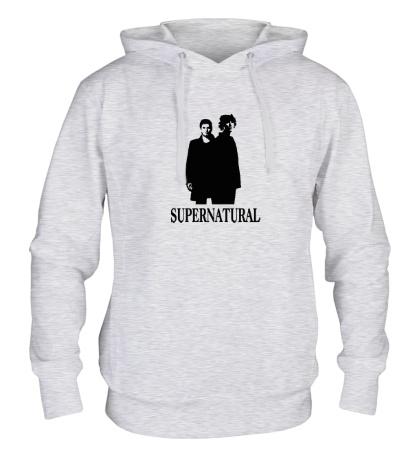 Толстовка с капюшоном Supernatural Bros
