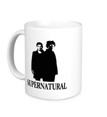 Керамическая кружка Supernatural Bros