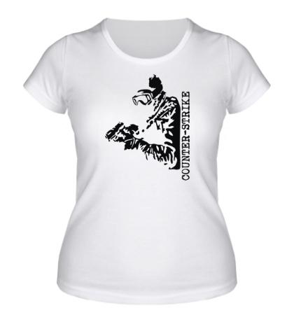 Женская футболка «Counter-Strike SWAT»