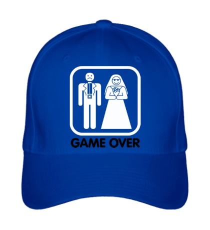 Бейсболка Game Over