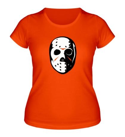 Женская футболка Маска Джейсона