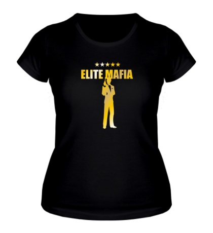 Женская футболка Elite Mafia