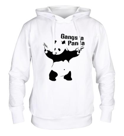Толстовка с капюшоном Gangsta Panda