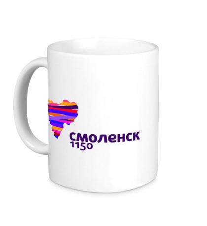 Керамическая кружка Смоленск 1150 лет