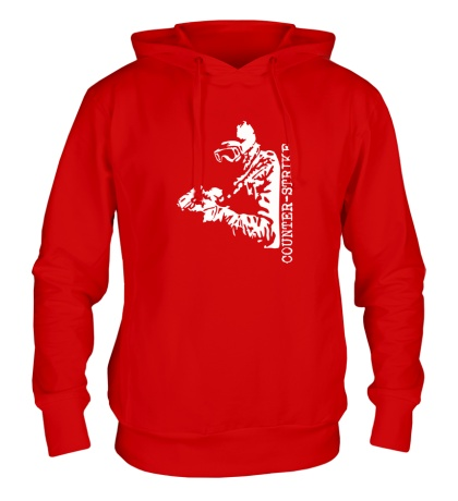 Толстовка с капюшоном Counter-Strike SWAT