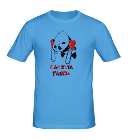 Мужская футболка Gangsta Panda