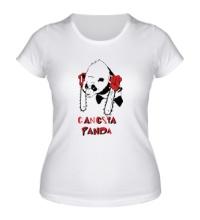 Женская футболка Gangsta Panda