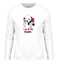 Мужской лонгслив Gangsta Panda