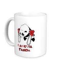 Керамическая кружка Gangsta Panda