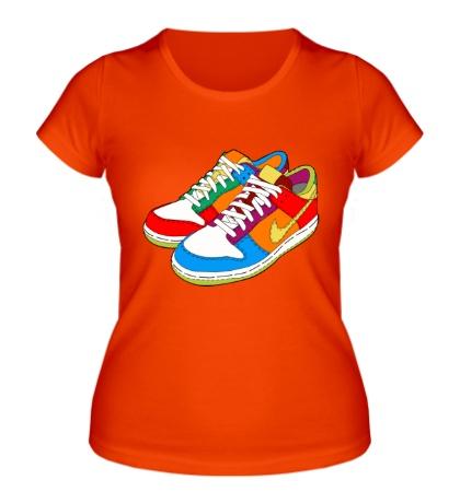 Женская футболка Кеды