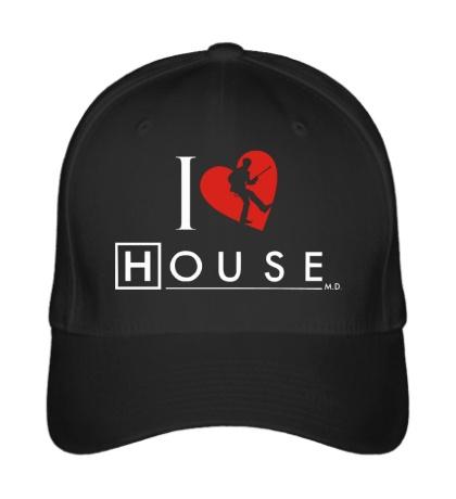 Бейсболка I Love House