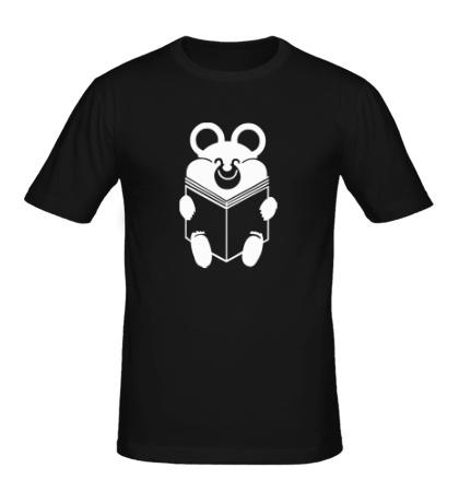Мужская футболка Умный мишка
