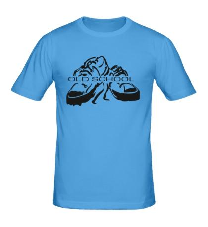Мужская футболка Old school