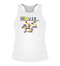 Мужская борцовка House MD: Smile Pills