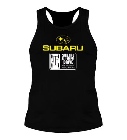 Мужская борцовка Subaru Wheel Drive