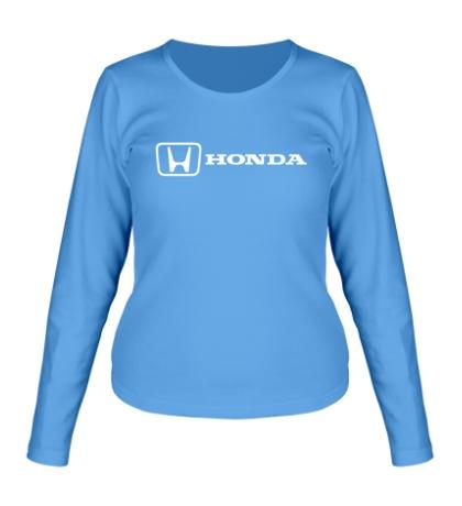 Женский лонгслив Honda Line
