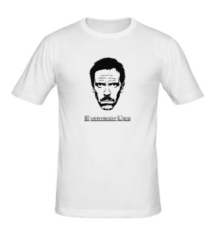 Мужская футболка House MD: Everybody Lies