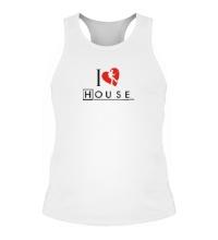Мужская борцовка I Love House