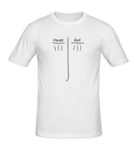 Мужская футболка House vs God